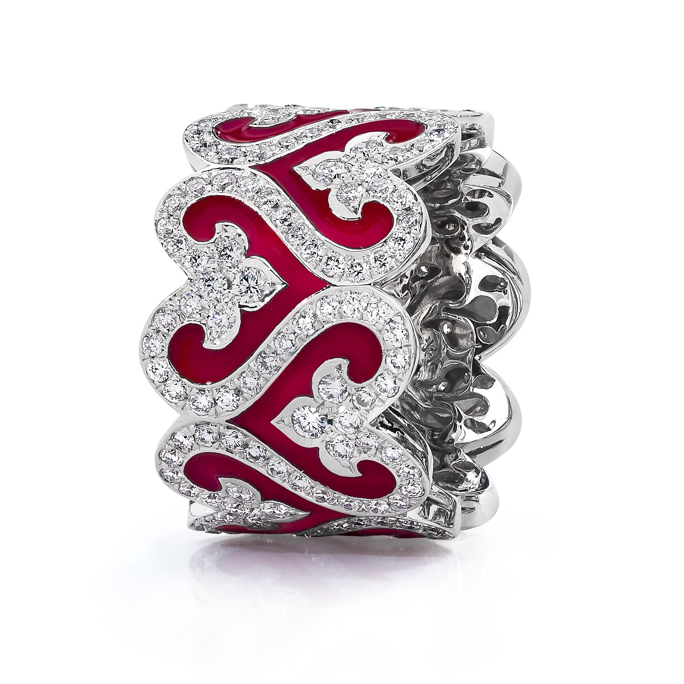 red karat rings l ruby product diamond gold rochelle ring rose